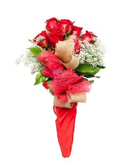 빨간 장미 꽃 꽃다발