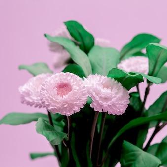 Цветочный дизайн-декор. минималистичная идея домашнего декора