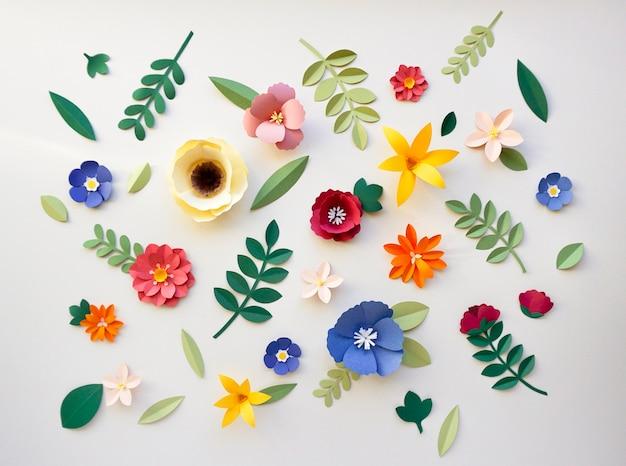 Flower paper craft handmade collection