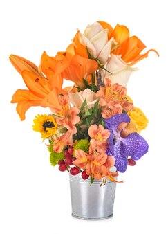 Flower in studio