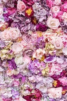 花のテクスチャ表面
