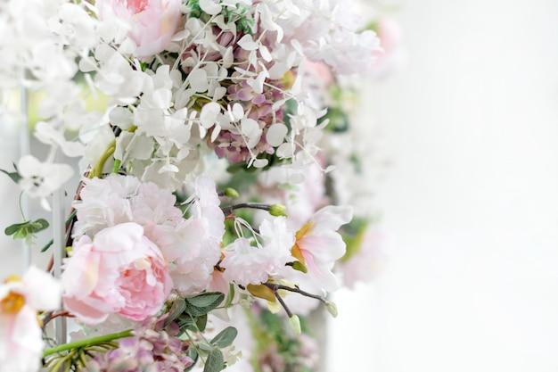 Цветочная настенная свадебный букет ручной работы