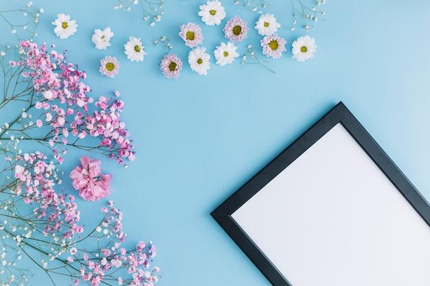 꽃과 프레임