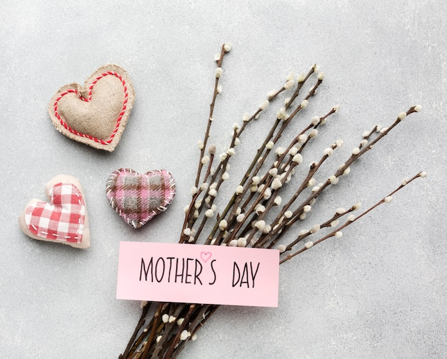 Flowers branches for mothers day Free Photo