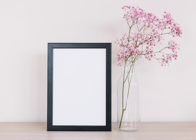 Flowers and a frame