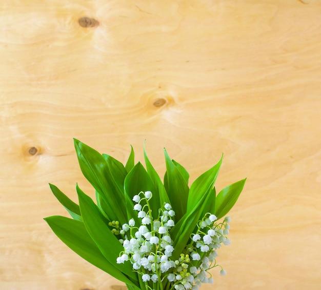Цветы ландыша весенние