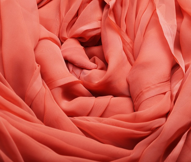 Flowg red fabric