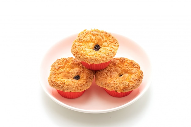 Fluffy and sponge cup cake