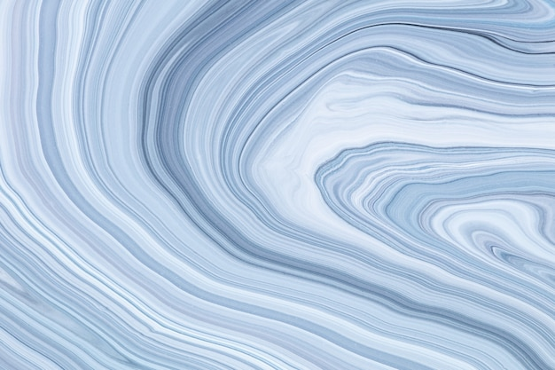 流動的なアートテクスチャ。混合ペイント効果を持つ抽象的な背景。流れて飛び散る液体アクリル絵の具。