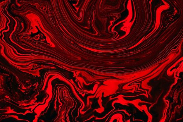 Жидкая художественная текстура. фон с абстрактным переливающимся эффектом краски. жидкий акрил с потоками и брызгами.