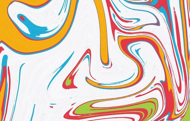 滑らかな色の壁紙明るくカラフルな形が重なっています大理石のテクスチャ芸術的な要約