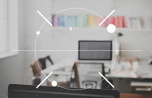 Focus concentrate четкость фокусировки концепция прожектора