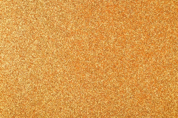 Focused golden abstract glitter background