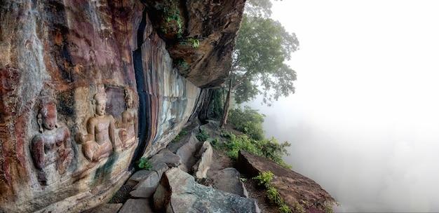カオプラワン国立公園、タイ、タイ(pha mor e daeng)の霧のパノラマビュー