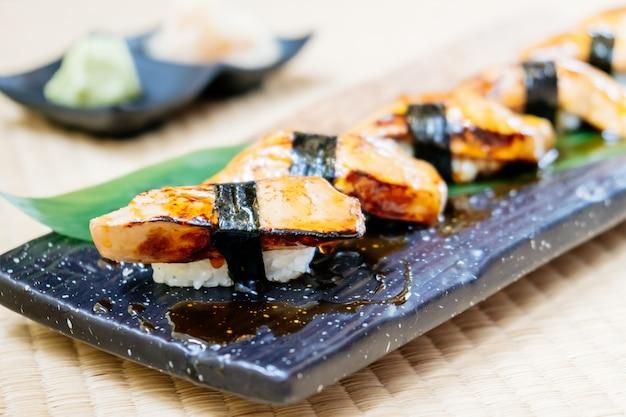 Foie gras sushi set
