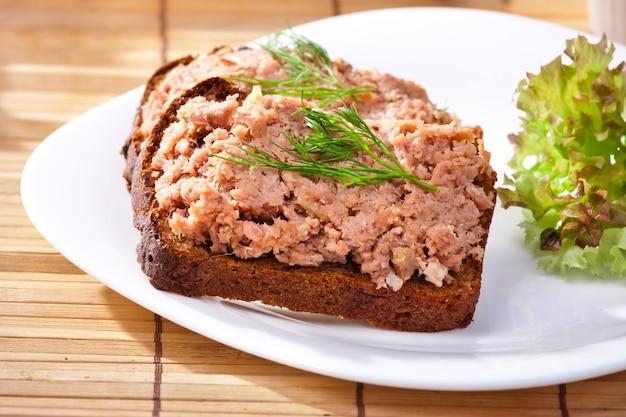 Foie grass toast