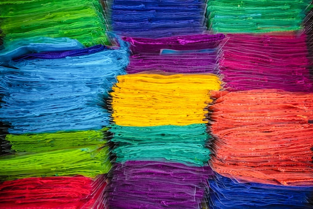 Fold of the fabric