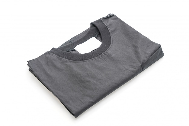 Fold shirt isolated