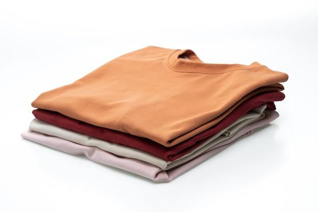 Fold t-shirt isolated