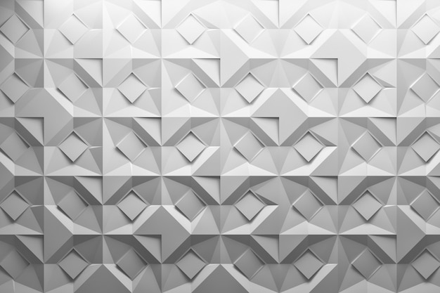 Folded cut paper effect pattern