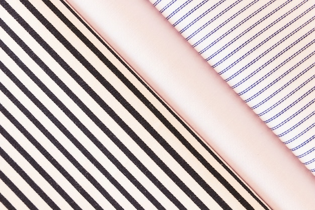 Сложенная ткань с гладкой; диагональ; шаблон линии