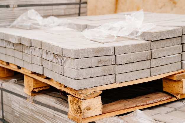 Folded paving slabs for paths construction repair and improvement