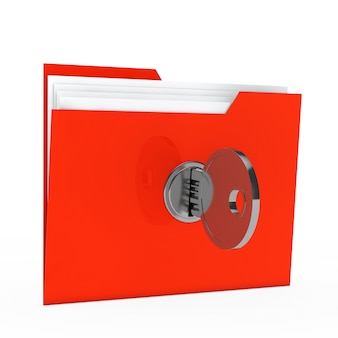 Folder with private documents