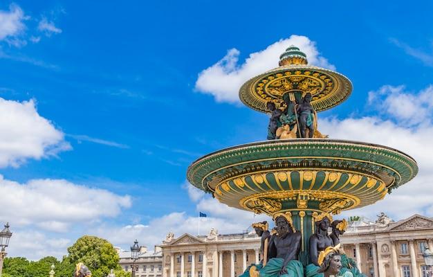 パリのfontaine des fleuves