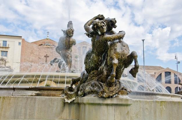 イタリア、ローマのフォンタナデッレナイアディ
