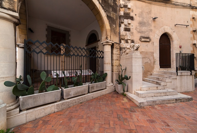 Fontanina della loggetta di palazzo greco, ortigia