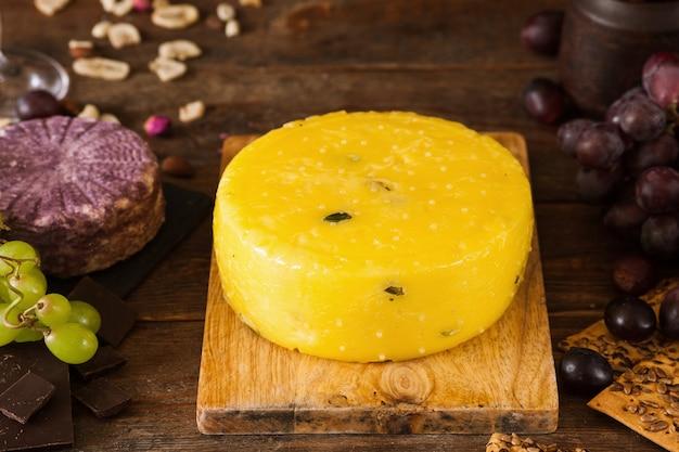 미식가 치즈의 식품 구성