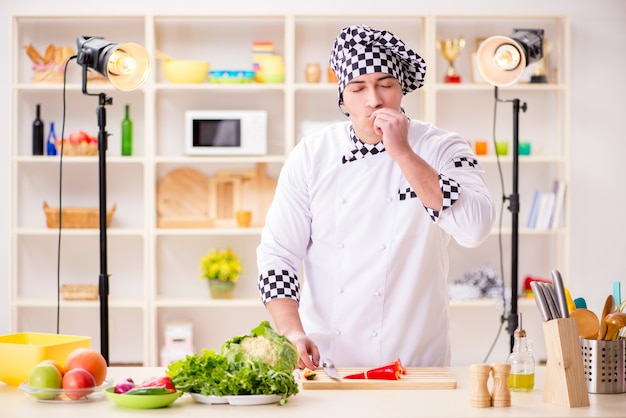 Food cooking tv show