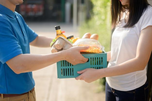 Доставка еды при блокировке и карантин дома
