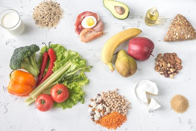 惑星の健康的な食事のための食品