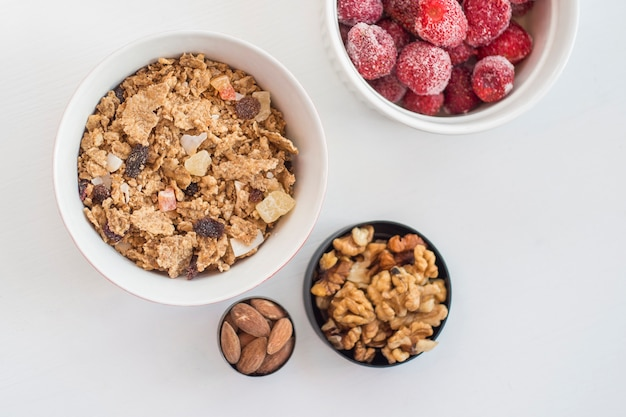 Food for healthy breakfast