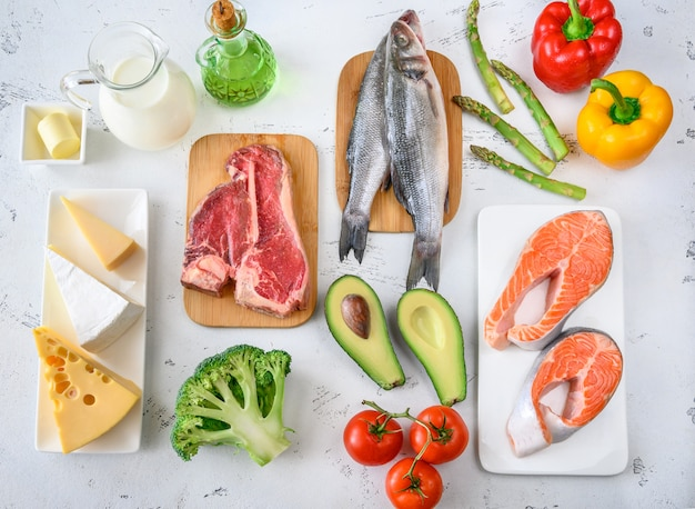 Food for ketogenic diet