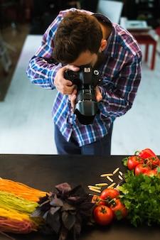 Фуд-фотография блог фото стилист фотограф концепция