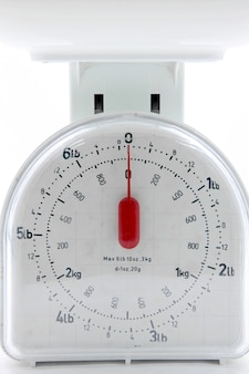 Food scale utensil