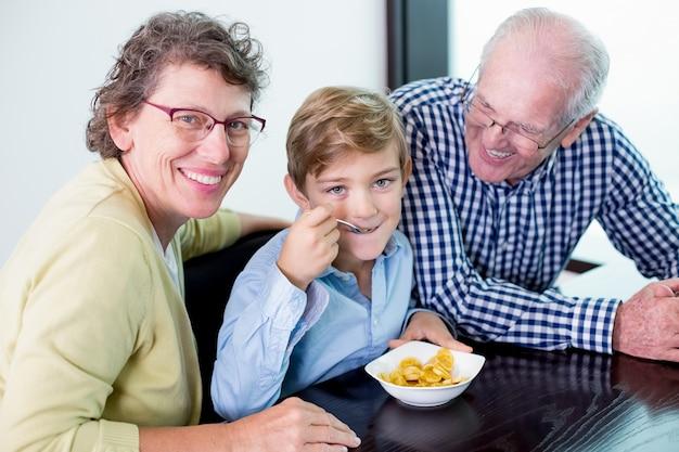 Food shirt grandson content cafe