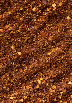 Food texture of different spices
