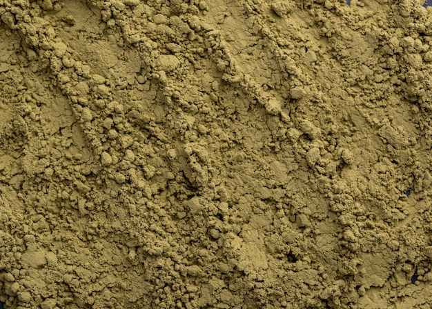 Food texture of green tea matcha powder