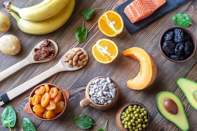 Еда с высоким содержанием калия