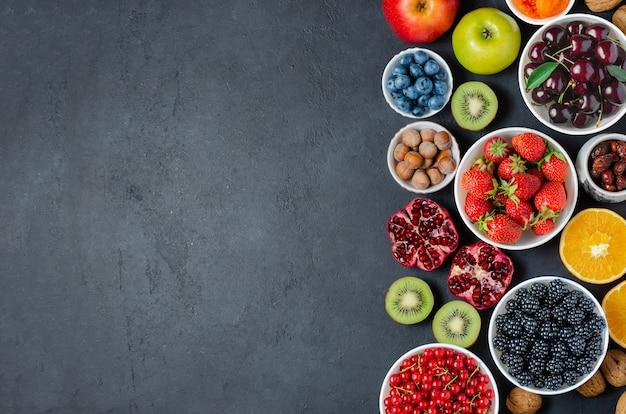抗酸化物質を多く含む食品