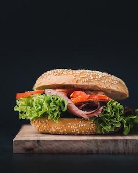 完璧なハンバーガー、foodporn写真の作り方