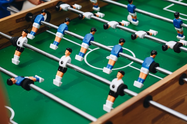 Foosball table soccer