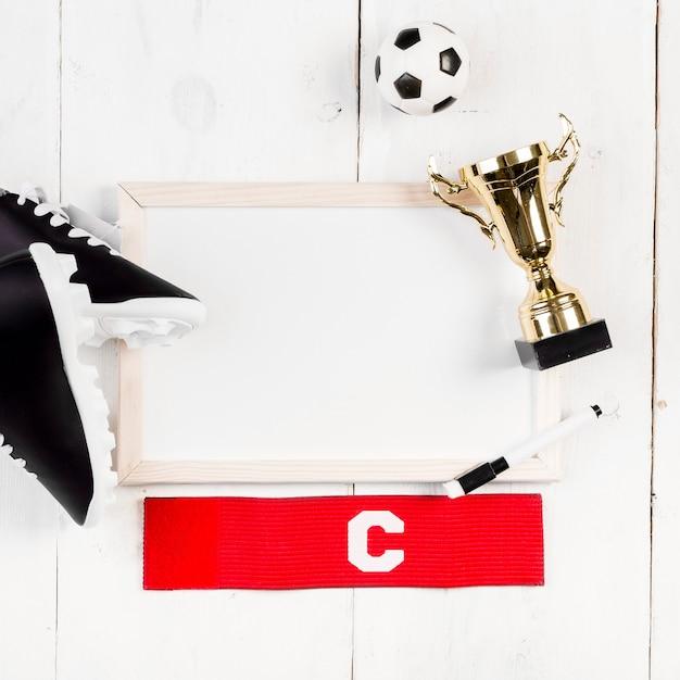 Футбольная композиция с доской