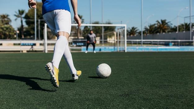 Обучение футболистов