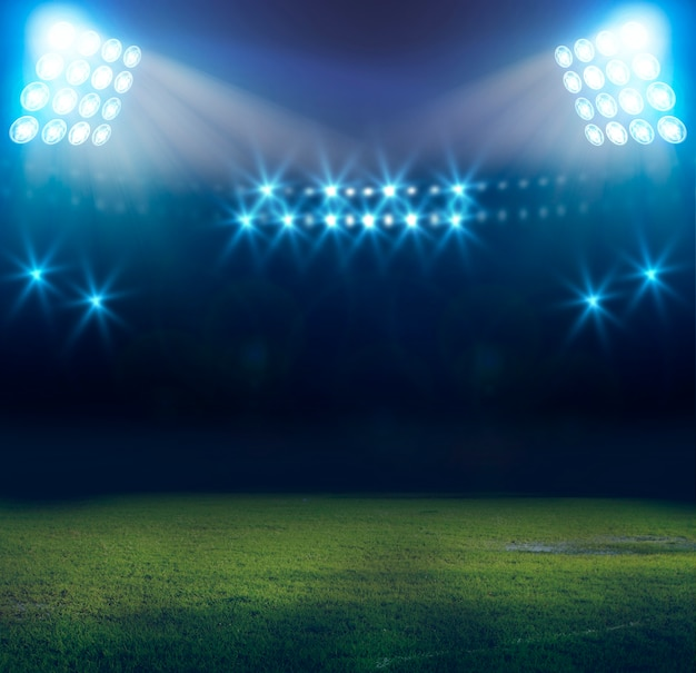 Football Stadium Night Lights: Stadium Vectors, Photos And PSD Files