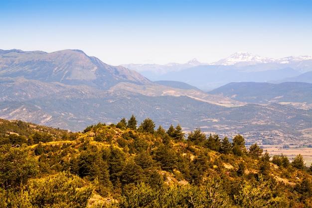 Предгорья пиренейских гор