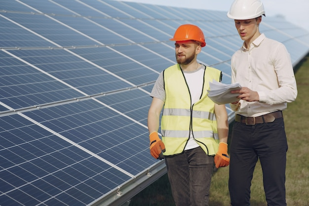 職長と太陽エネルギー駅で実業家。